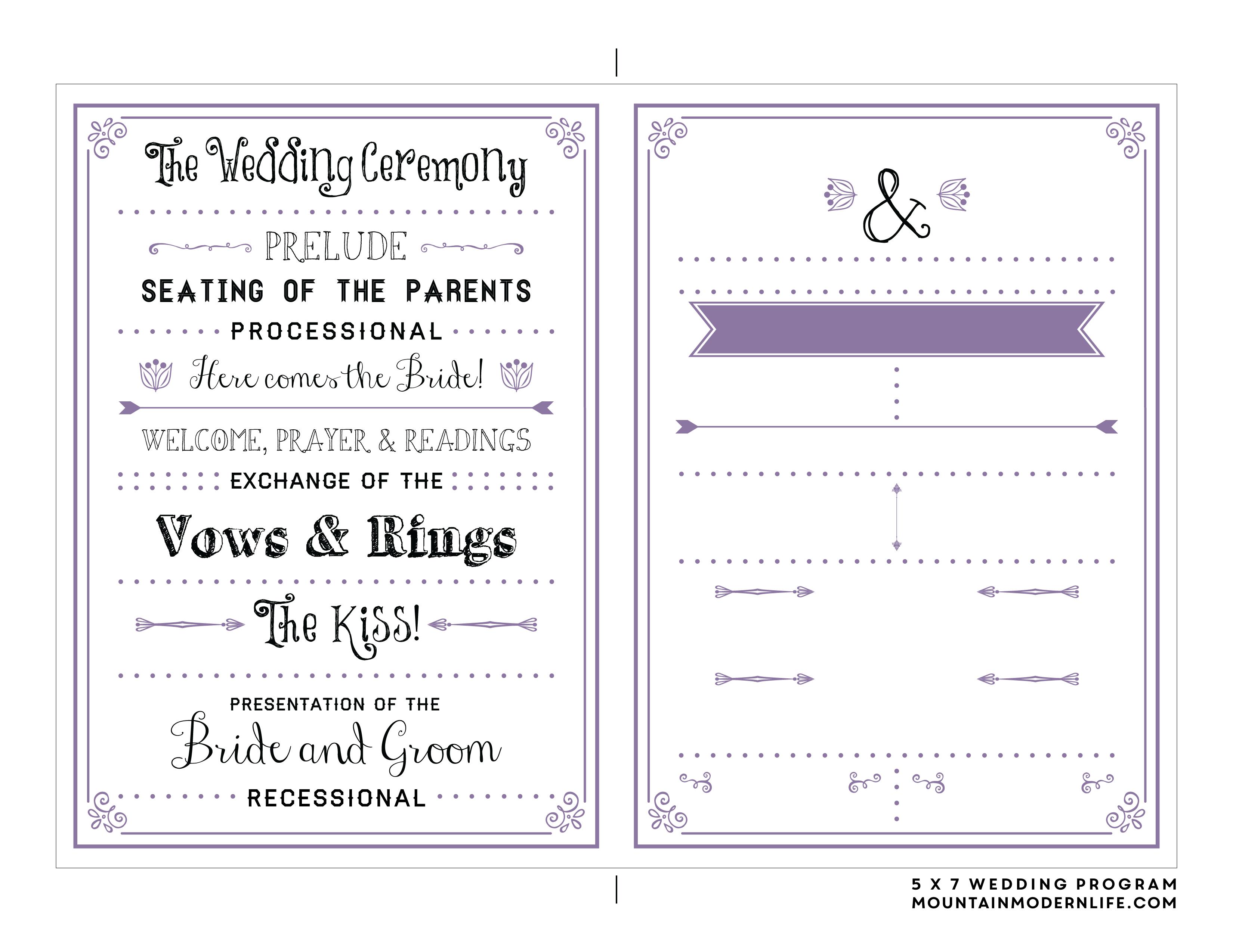 Free Printable Template