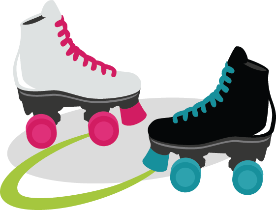 Roller Skating Clip Art Free