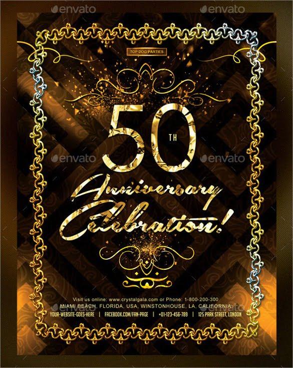 50th Birthday Invitation Templates Great With 50th Birthday