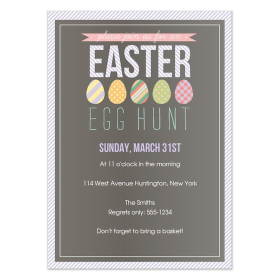 Easter Egg Hunt Invite