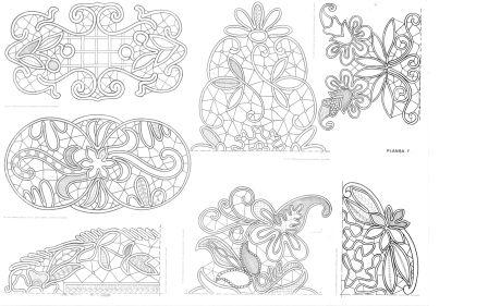 Printable Lace Templates