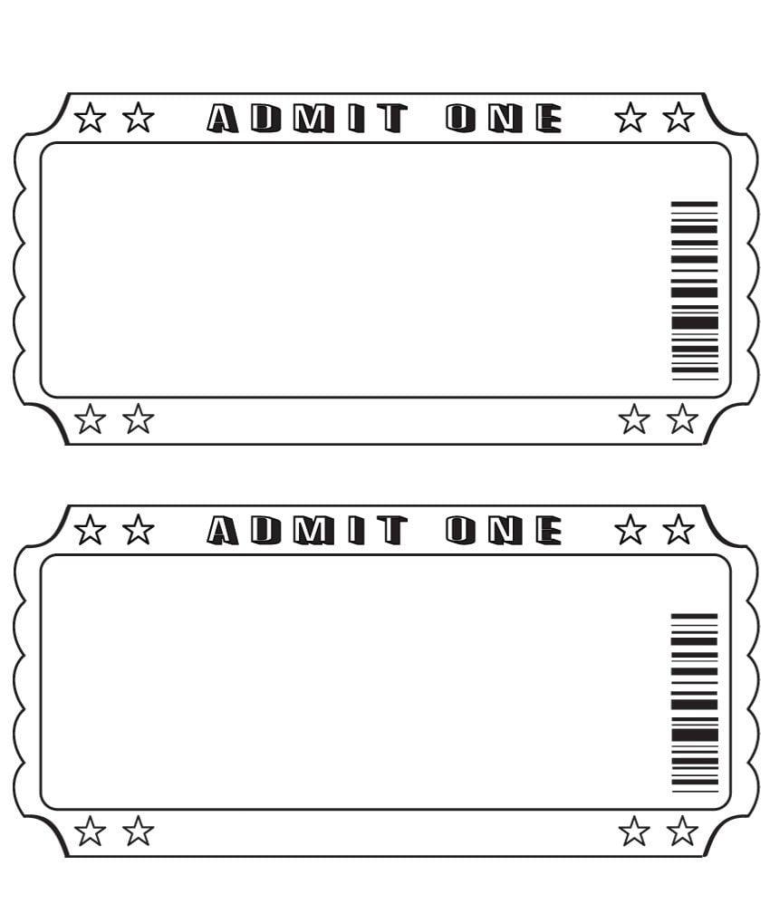 Blank Ticket …
