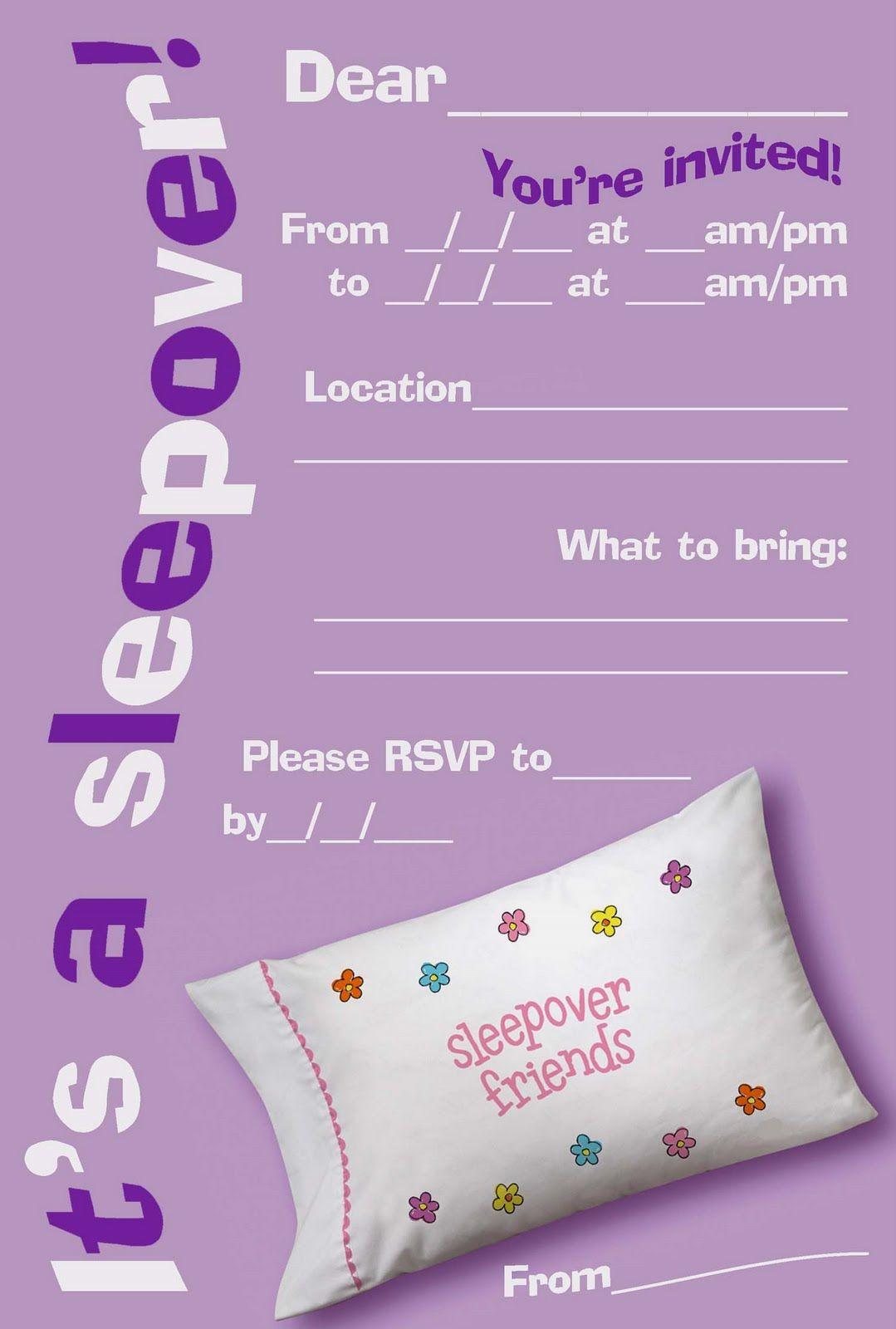 Hello Kitty Coloring  Free Printable Sleepover   Slumber Party
