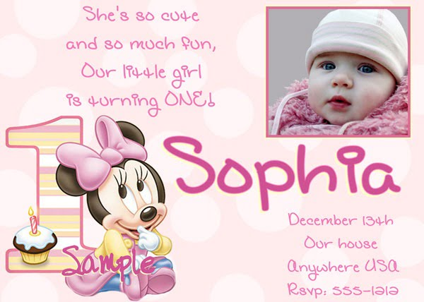 Baby Girl 1st Birthday Invitation Templates Best With Baby Girl