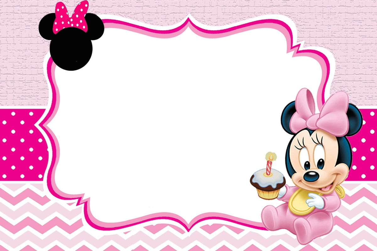 Baby Minnie Mouse Invitation Template Ideal Minnie Mouse