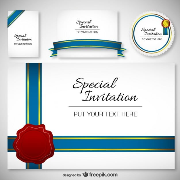 Invitations Cards Templates