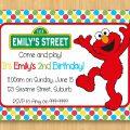Download Elmo Invitation