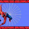Spiderman Birthday Template