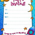 Free Sample Party Invitations