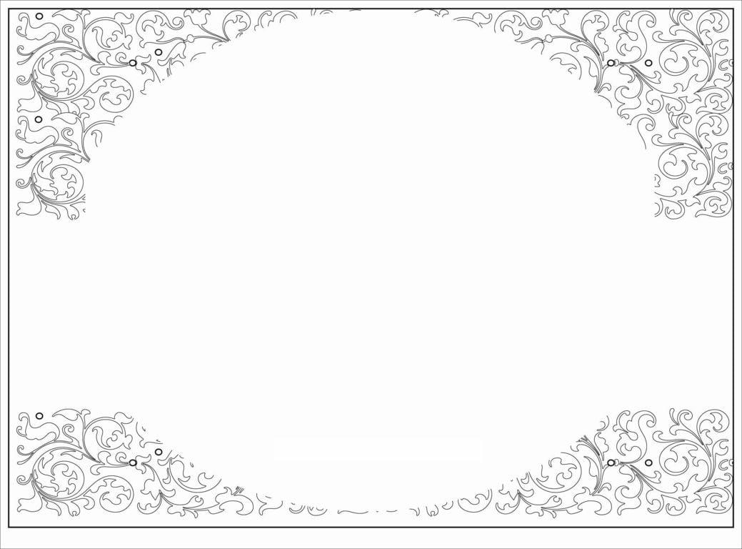15+ Blank Invite Template