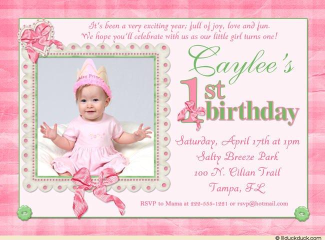 Inspiring Of St Birthday Invitatio Epic 1st Birthday Invitation
