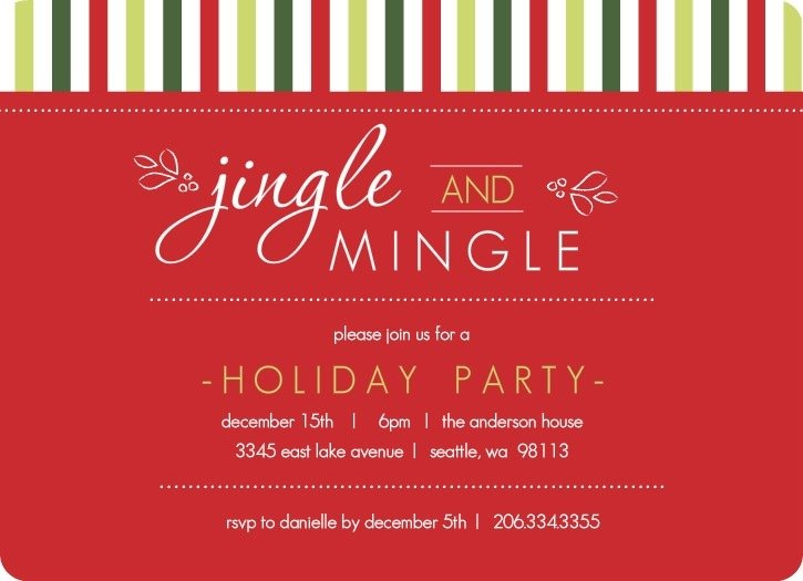 Invitation Ideas  Free Christmas Party Invitations