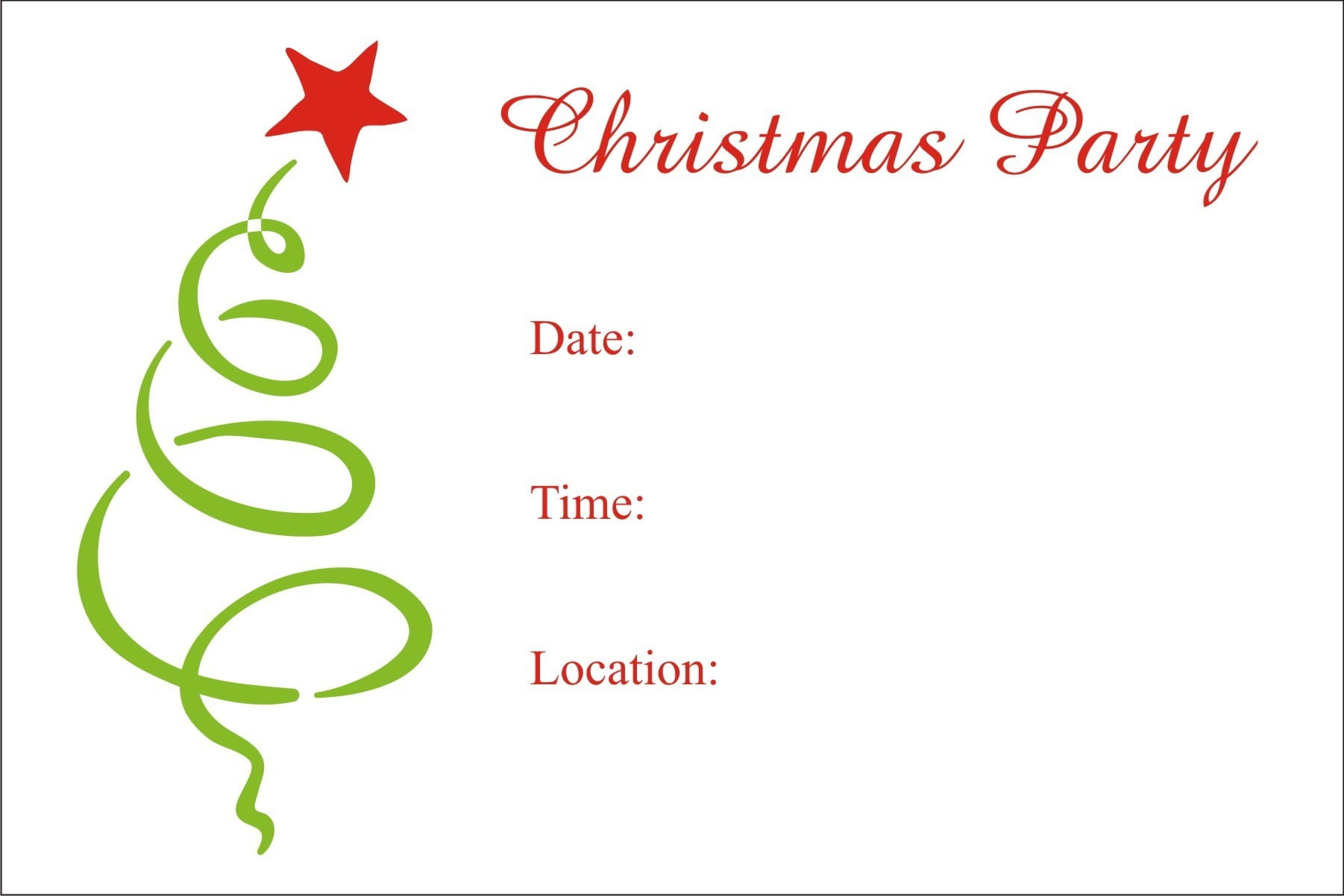 Christmas Invites Images