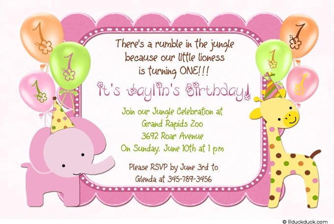 Create Kids Birthday Invitations New With Create Kids Birthday