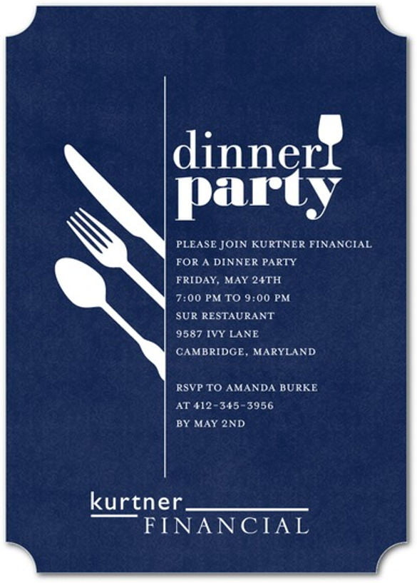 Dinner Invite Templates