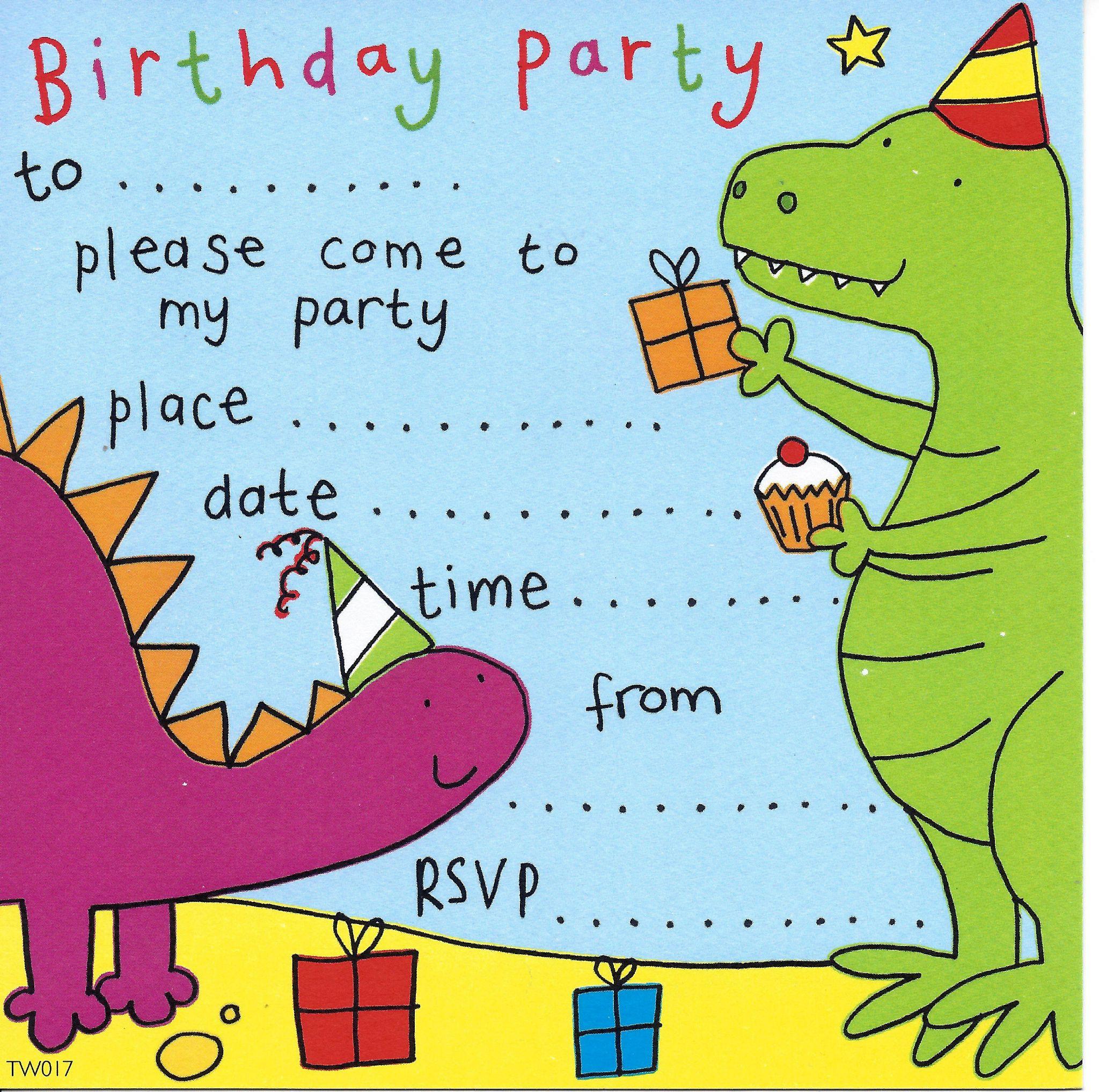 Kids Invites