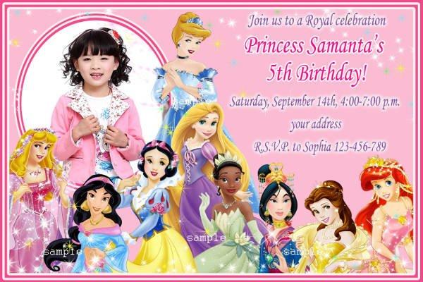 Invitation Template  Disney Birthday Invitations