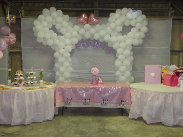 Baby Minnie Mouse Baptism Party Ideas