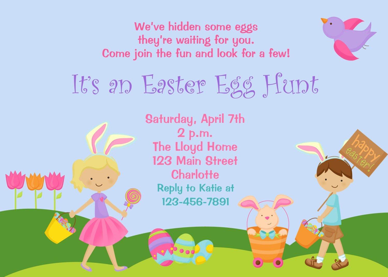Easter Egg Hunt Invitations – Hd Easter Images