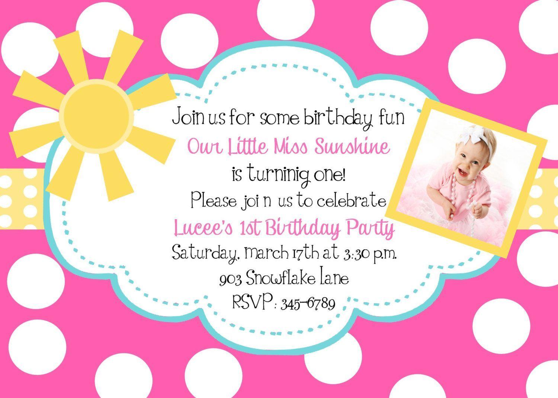 Birthday Invitation Wording For 3 Year Old