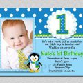 Sample Birthday Invitation Card For 1st Birthday