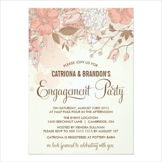 Engagement Invites Templates Free Photo – Free Engagement