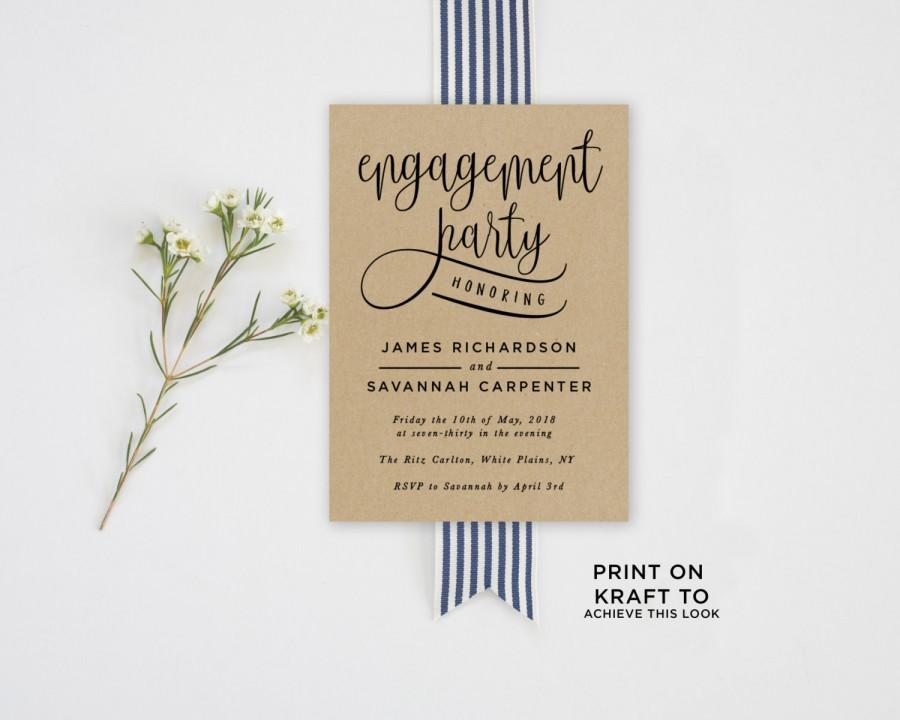 Img Page Nice Engagement Party Invitations Templates
