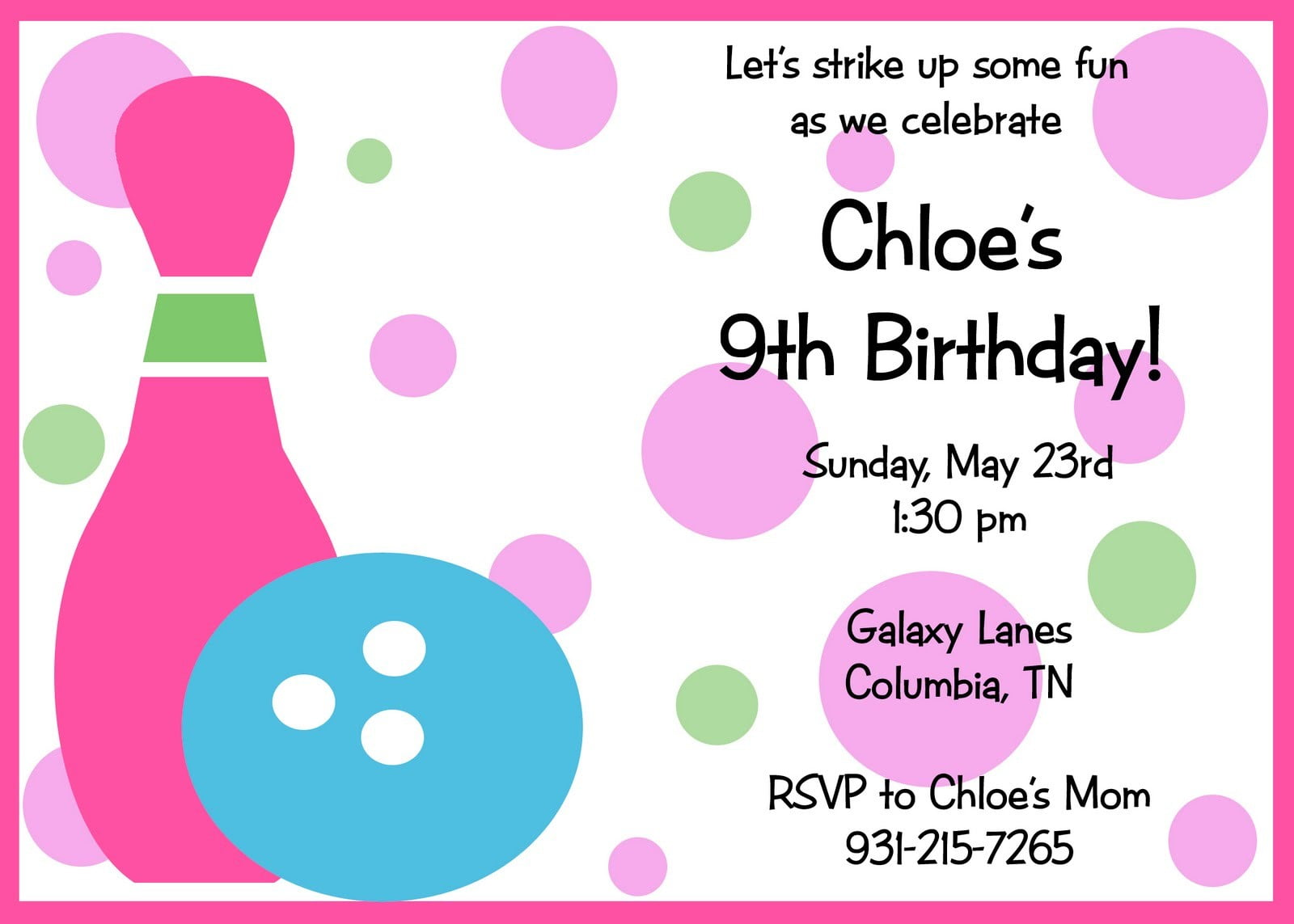 Exelent Party Invites For Kids Mold Invitation Card Free Printable