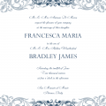 Template Wedding Invitations