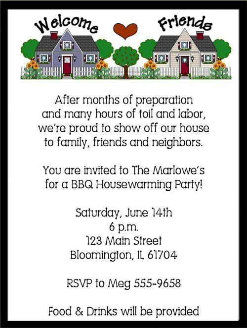 Fancy Housewarming Party Invitations Wording