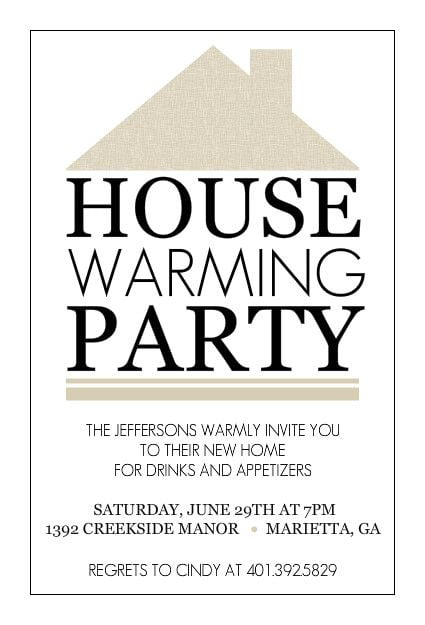 Free Printable Housewarming Party Invitation Templates Pertaining