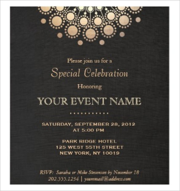 Free Downloadable Invitation Templates Word Free Dinner Invitation