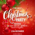 Xmas Party Invitations Templates Free