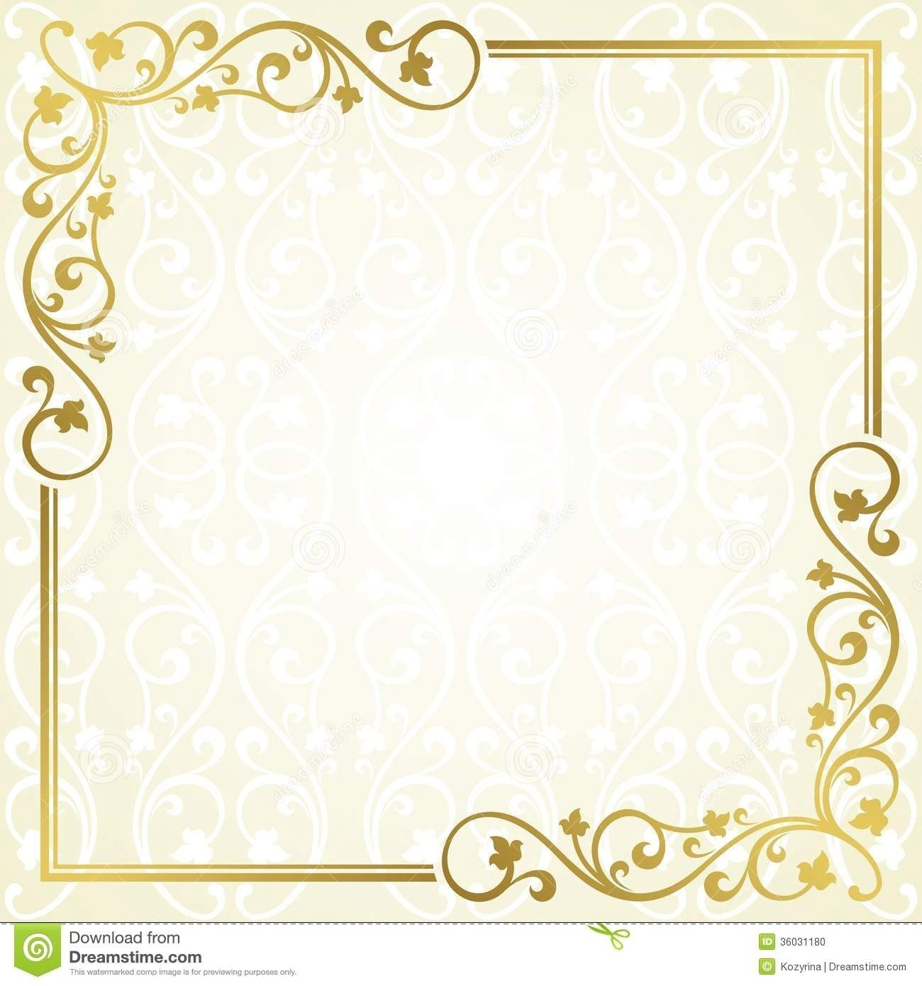 Template Of Invitation Card