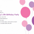 Invitation Free Kids