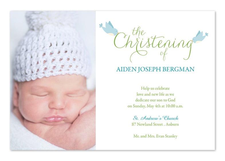 Free Printable Baptism Invitations Templates