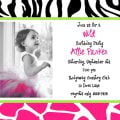 Printable Birthday Invitation Template For Kids