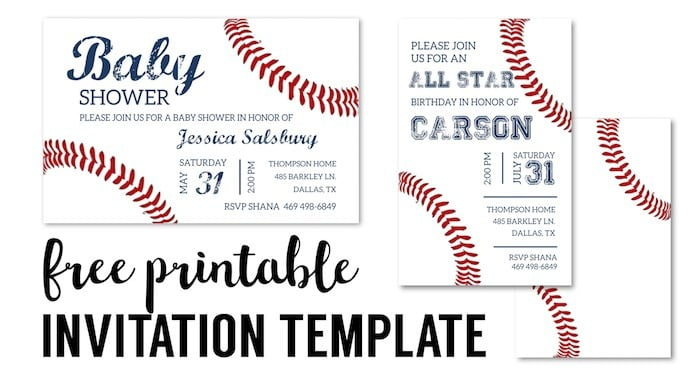 Free Printable Sports Birthday Invitation Templates New With Free