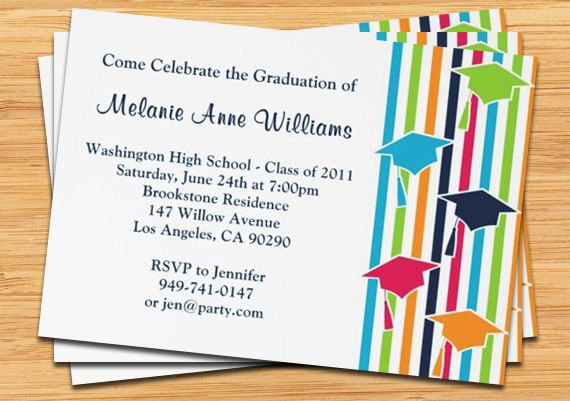Graduation Invite Cards Graduation Invite Cards With A Marvelous