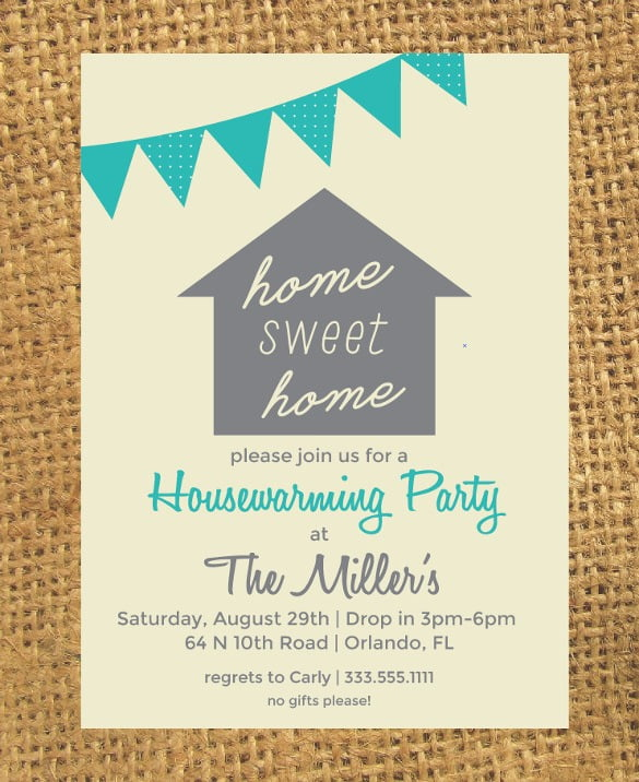 Housewarming Party Invite By Way Of Using An Impressive Design