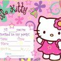 Free Printable Hello Kitty Invitation Birthday