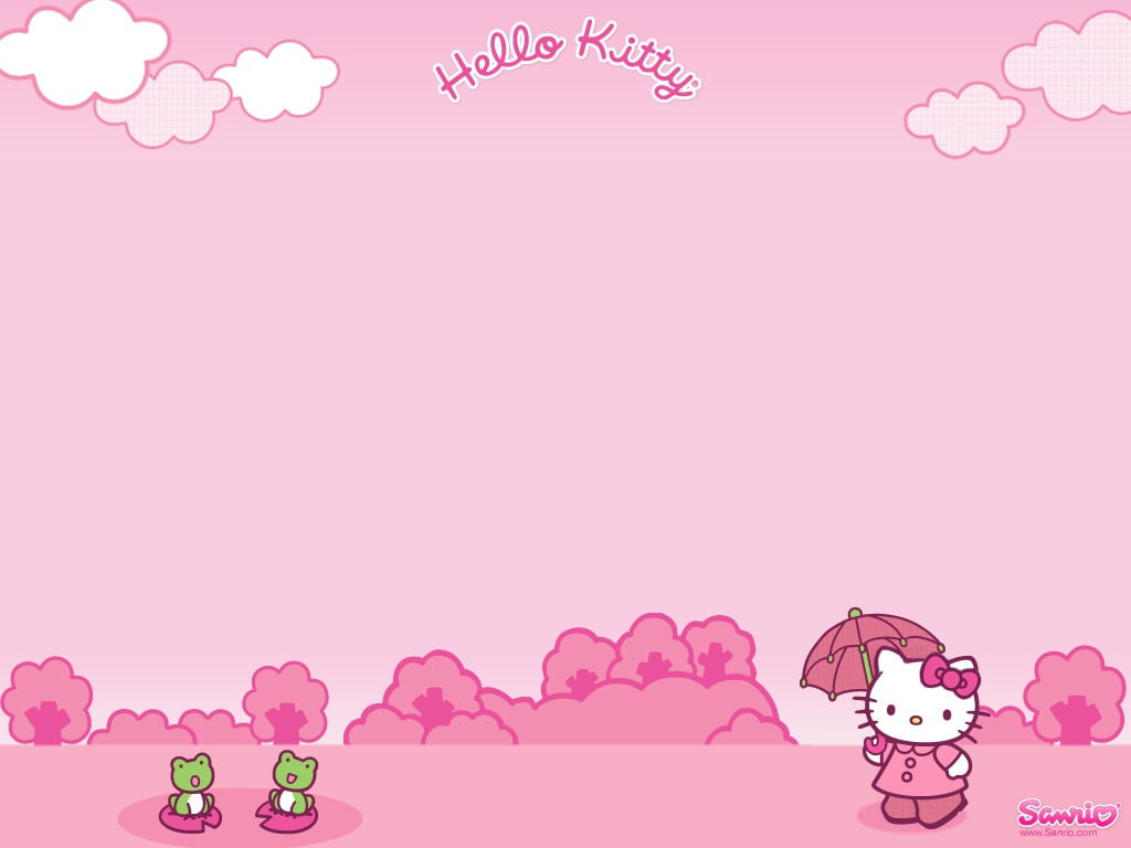 Hello Kitty Invitation Background 4 » Background Check All