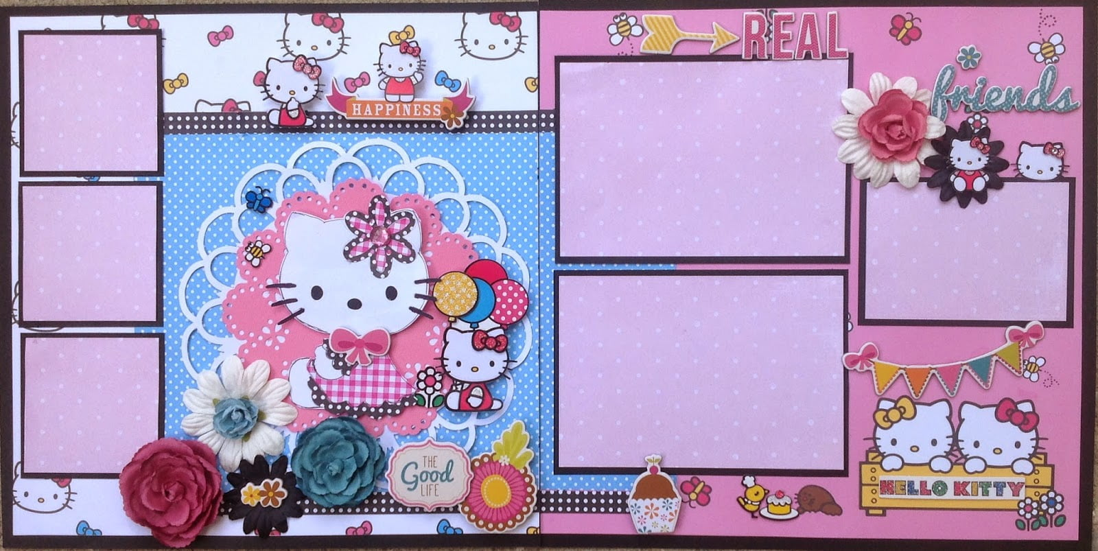 Amazing Grace Paper Crafts  Hello Kitty