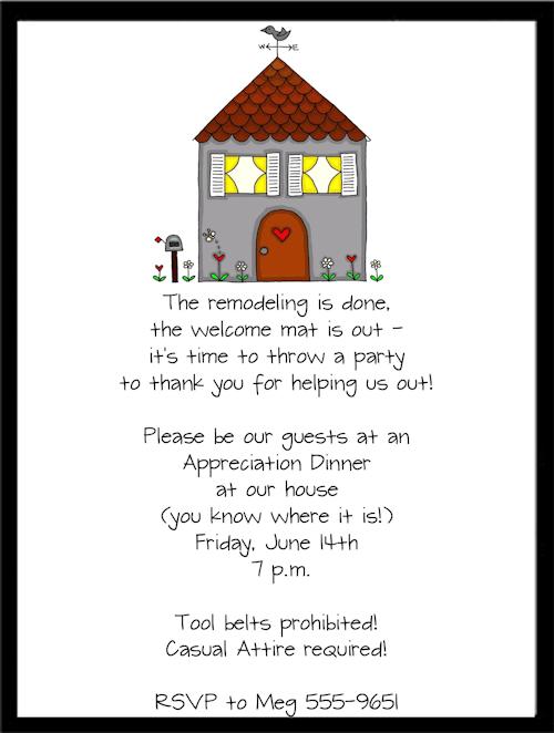 Housewarmin Perfect Housewarming Party Invitations Wording