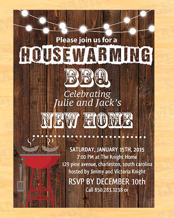Surpris Ideal Housewarming Party Invites Free Template