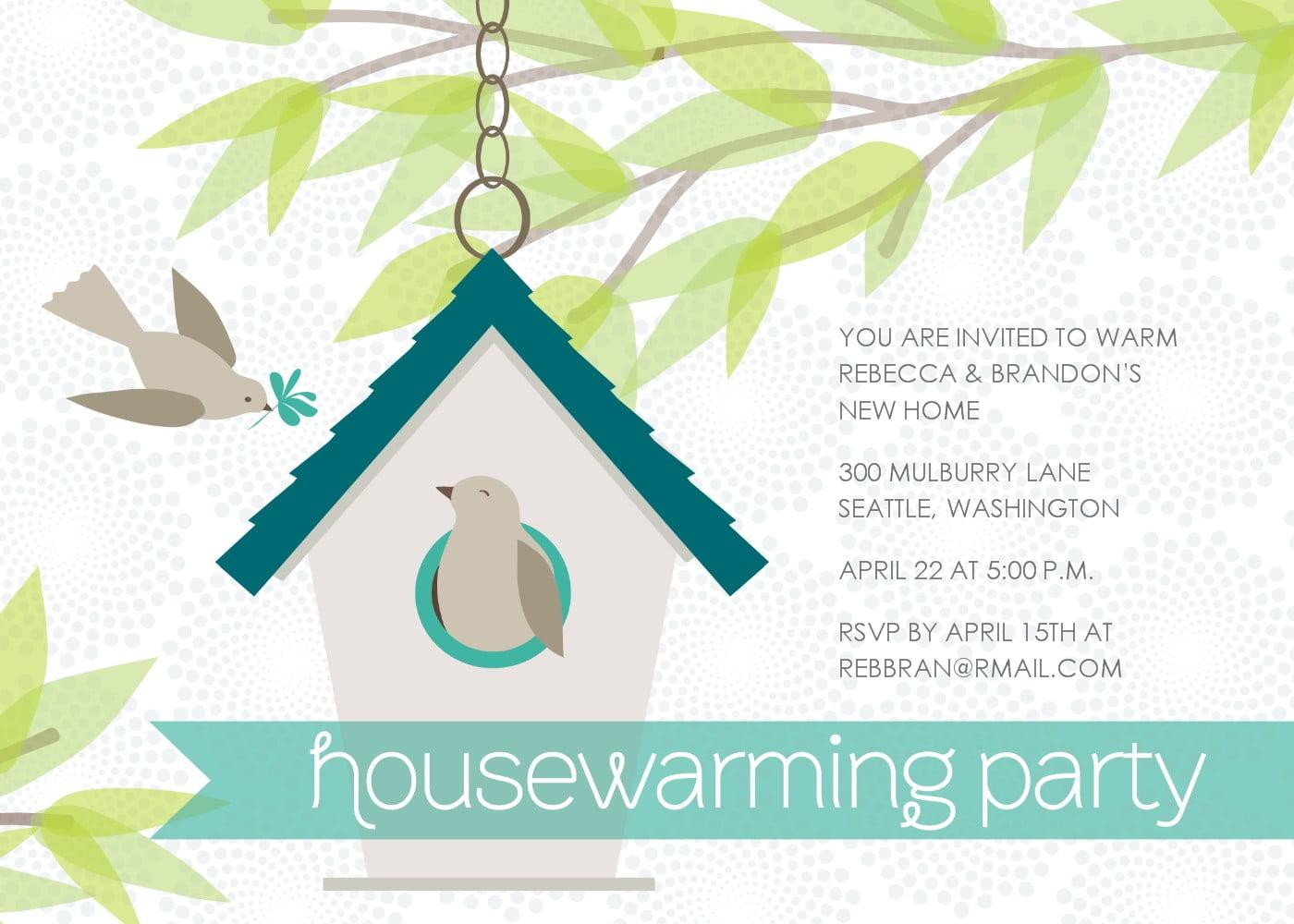 Housewarming Invitation Template Free Download