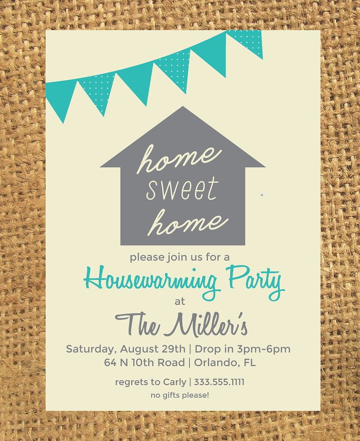 Housewarming Invite Template Cool With Housewarming Invite