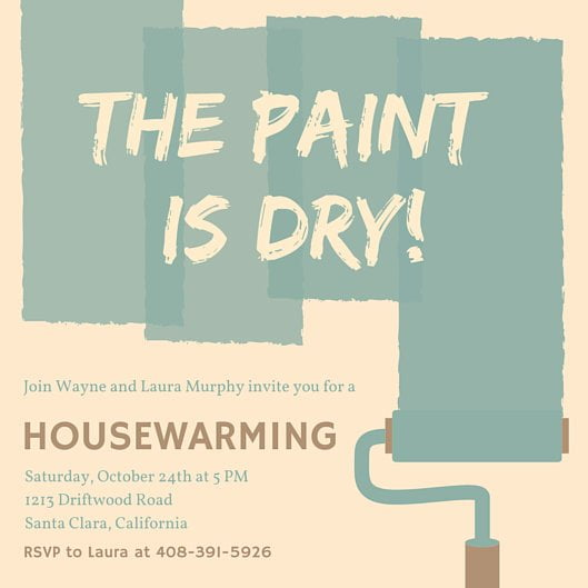 Best Printable Housewarming Party Invitations