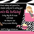 Printable Party Invitations Girls 13th Sleepover