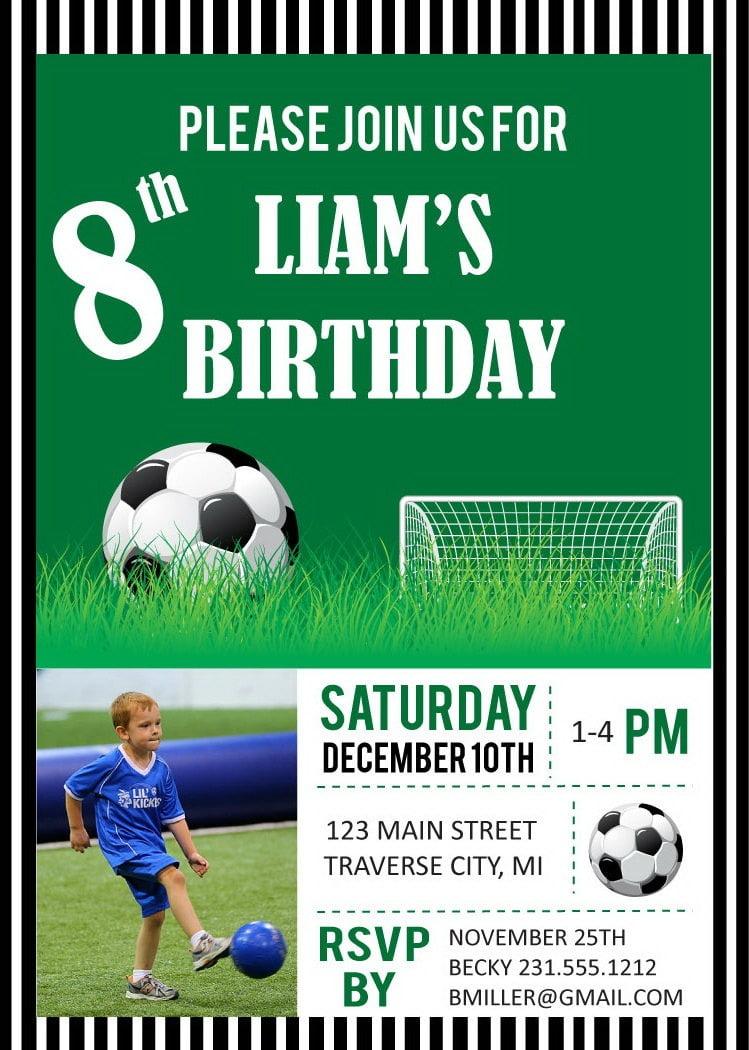 Il Fullxfull Kvd Original Nice Soccer Themed Birthday Party
